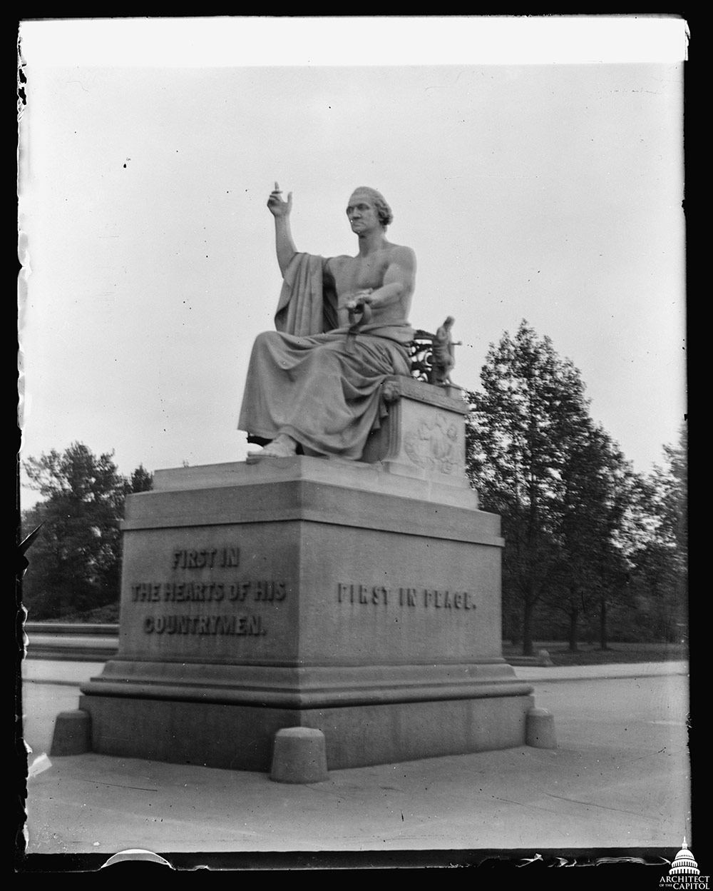 Statue of George Washington by Horatio Greenough