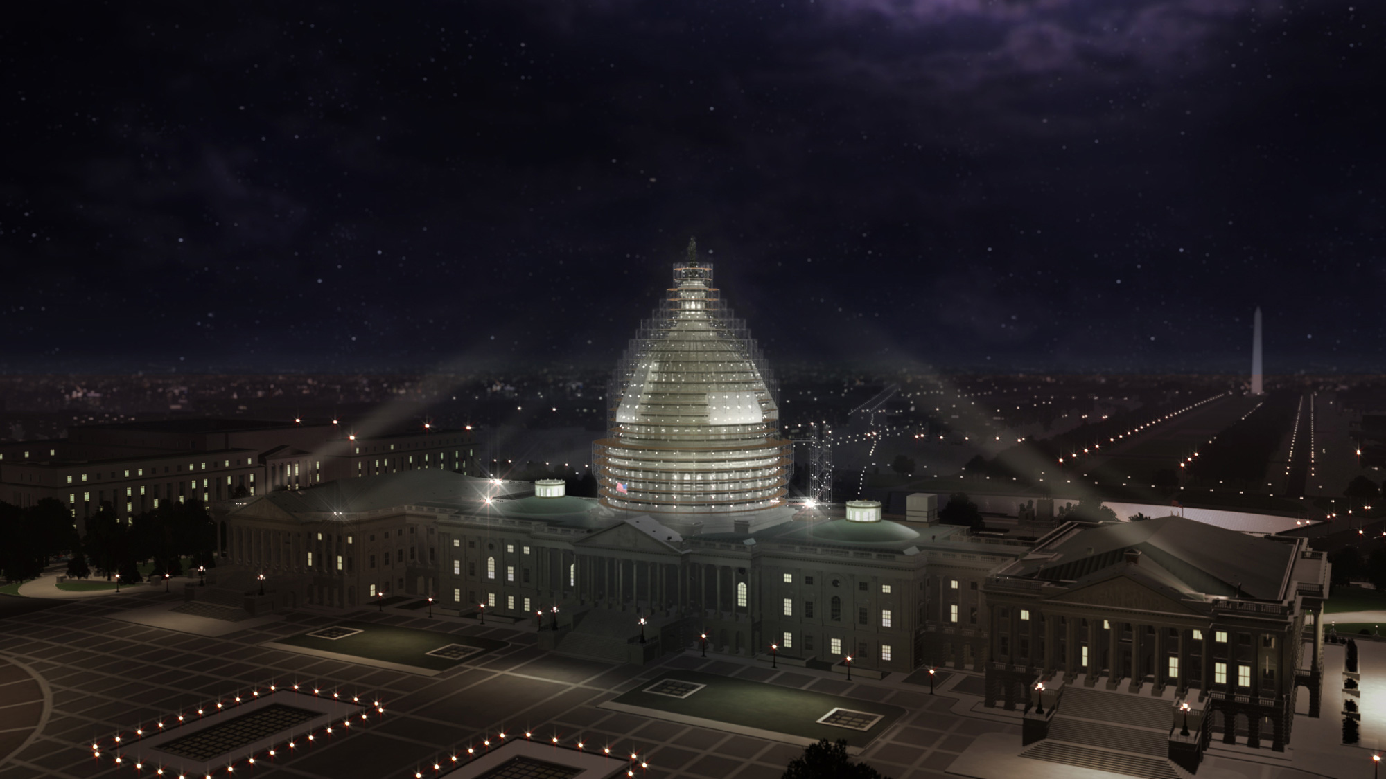 Capitol Building Scaffolding : Dome restoration project overview architect of the