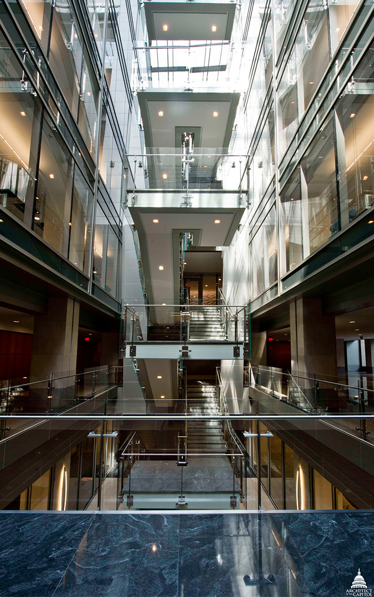 The renovation of the O'Neill Building modernized the facility and added an abundance of natural light.