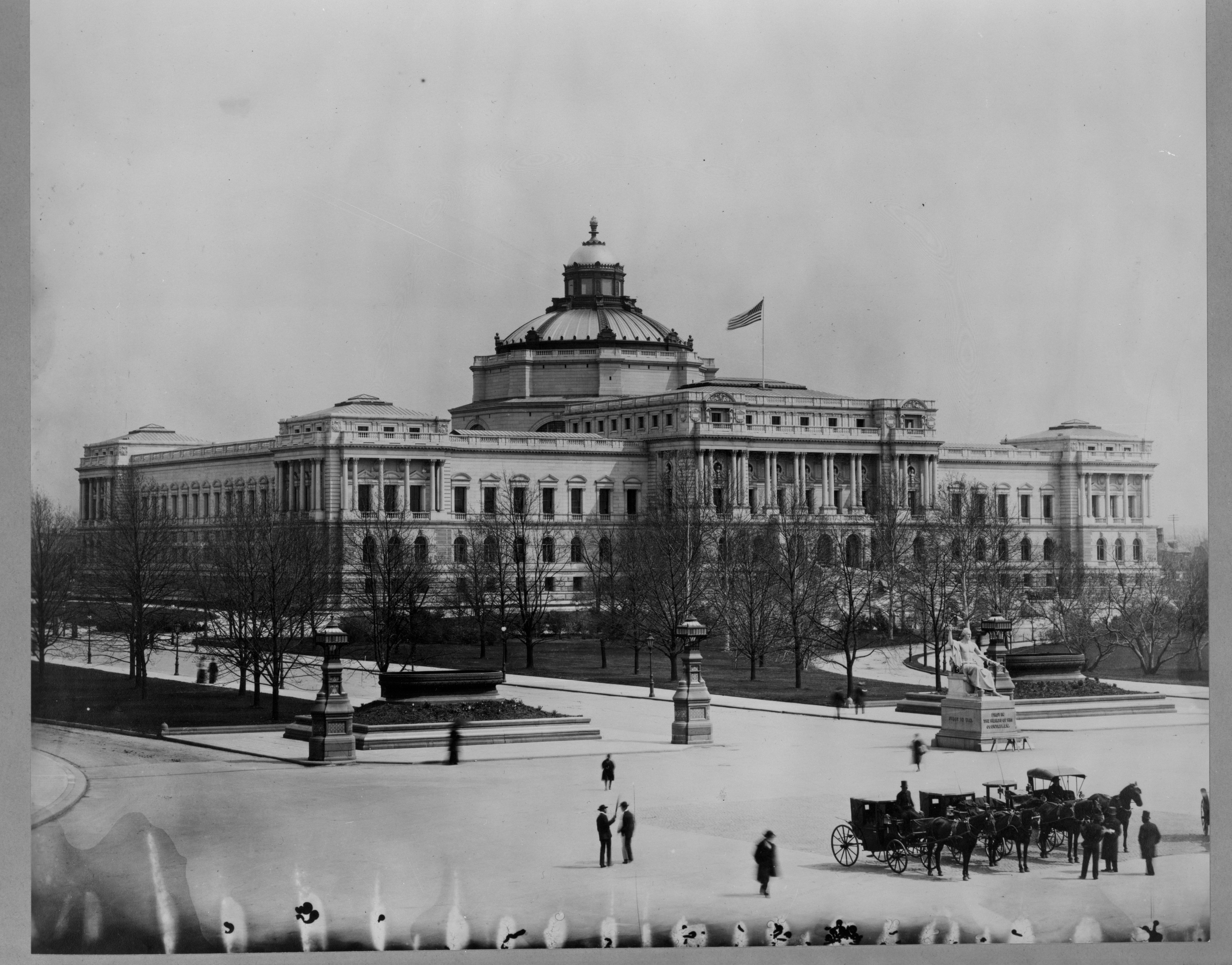 Thomas Jefferson Building circa 1897.