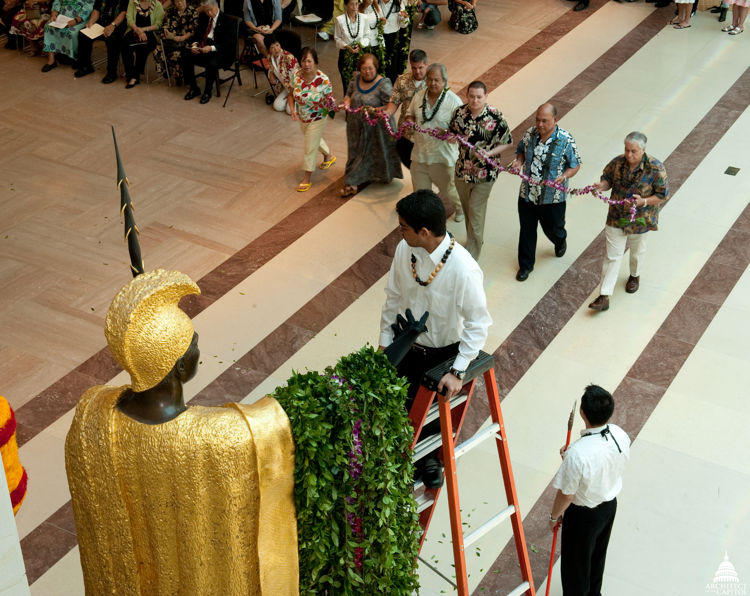 Kamehameha Day ceremony in 2009.