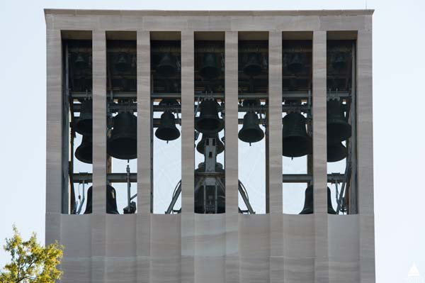 The bells of the Taft Memorial and Carillon in Washington, D.C.
