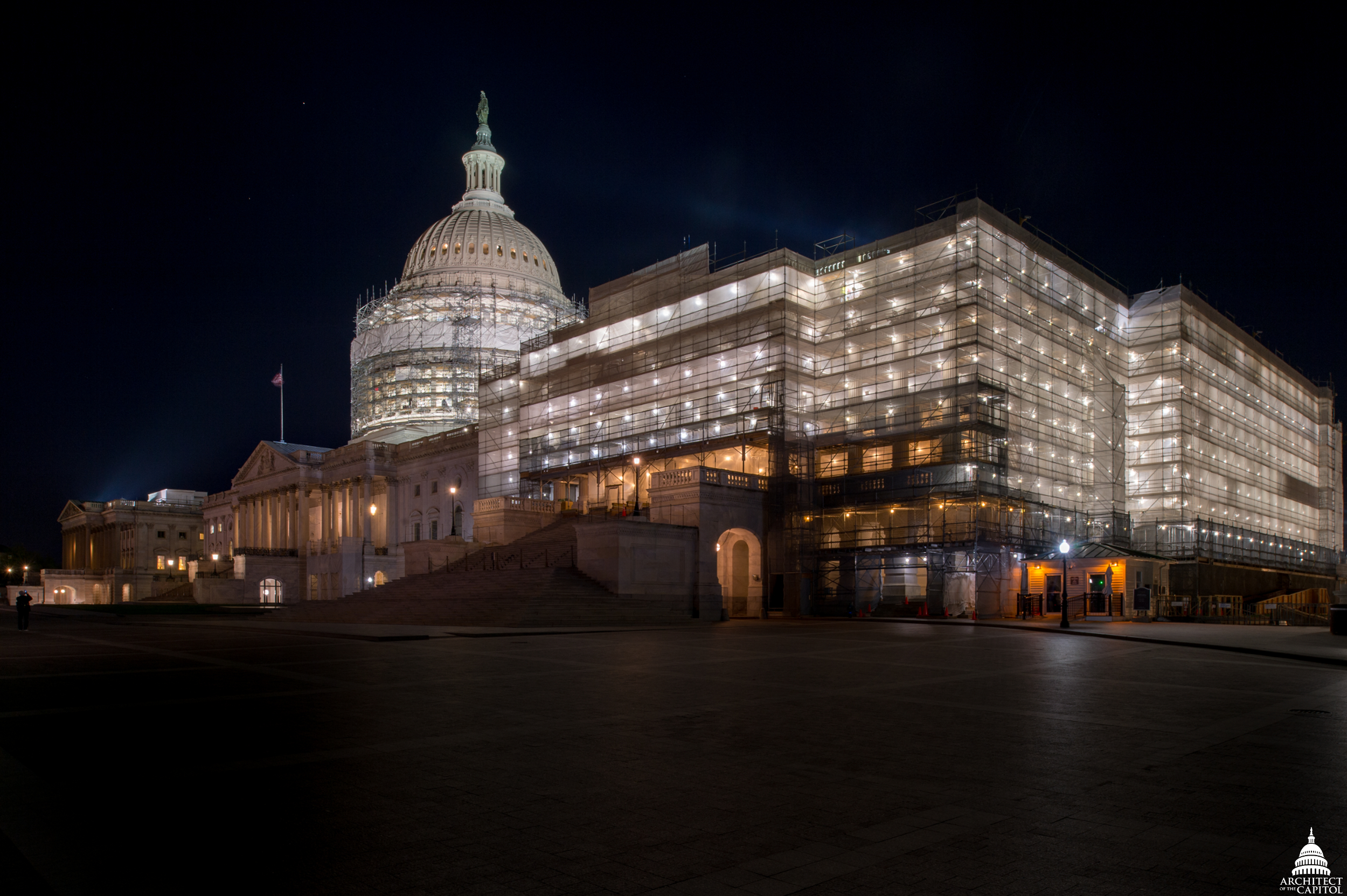 U.S. Capitol Exterior Preservation - Stone and Metal | Architect ...
