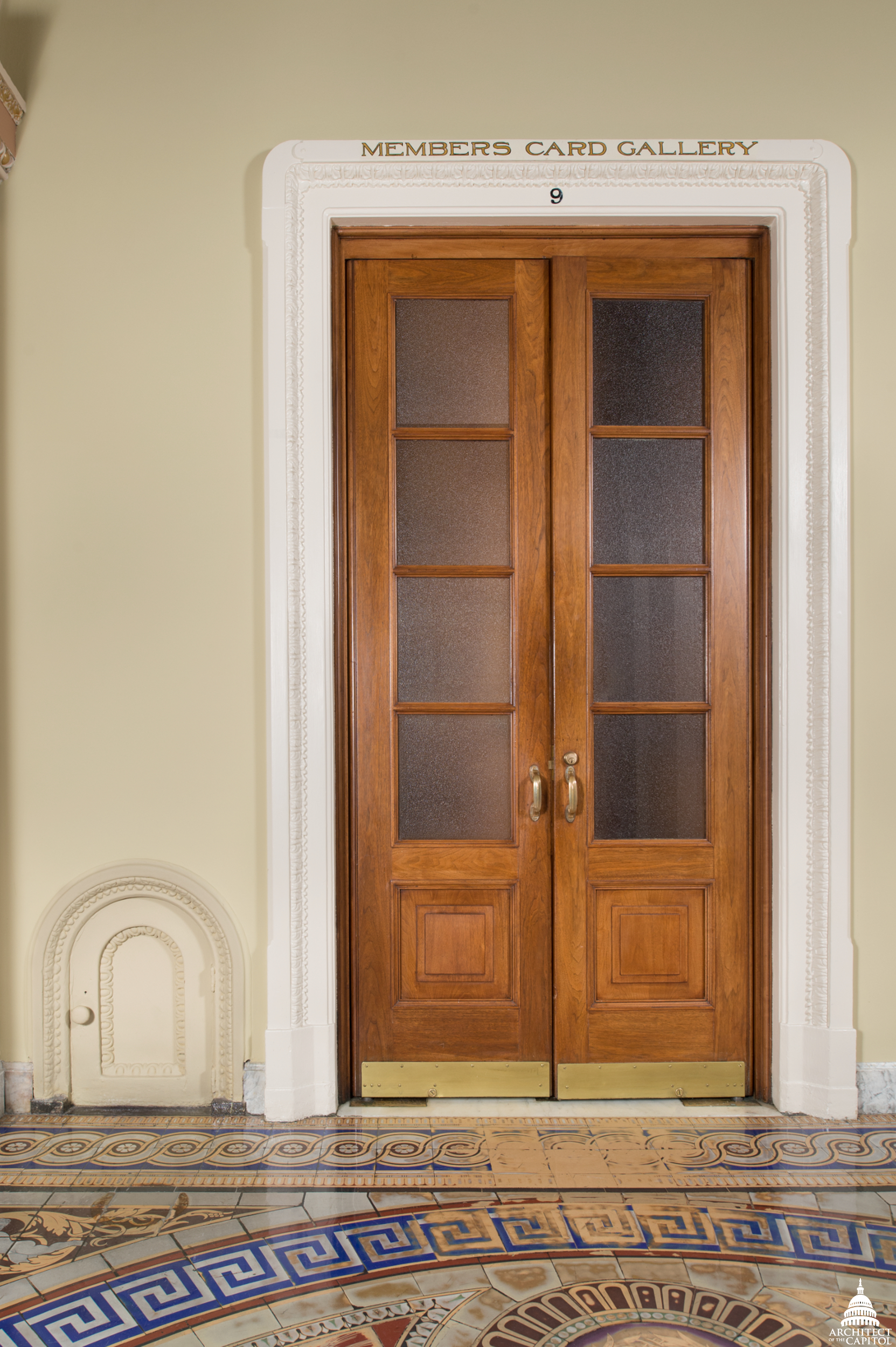 The Story Of The Tiny Doors In The Us Capitol Aoc