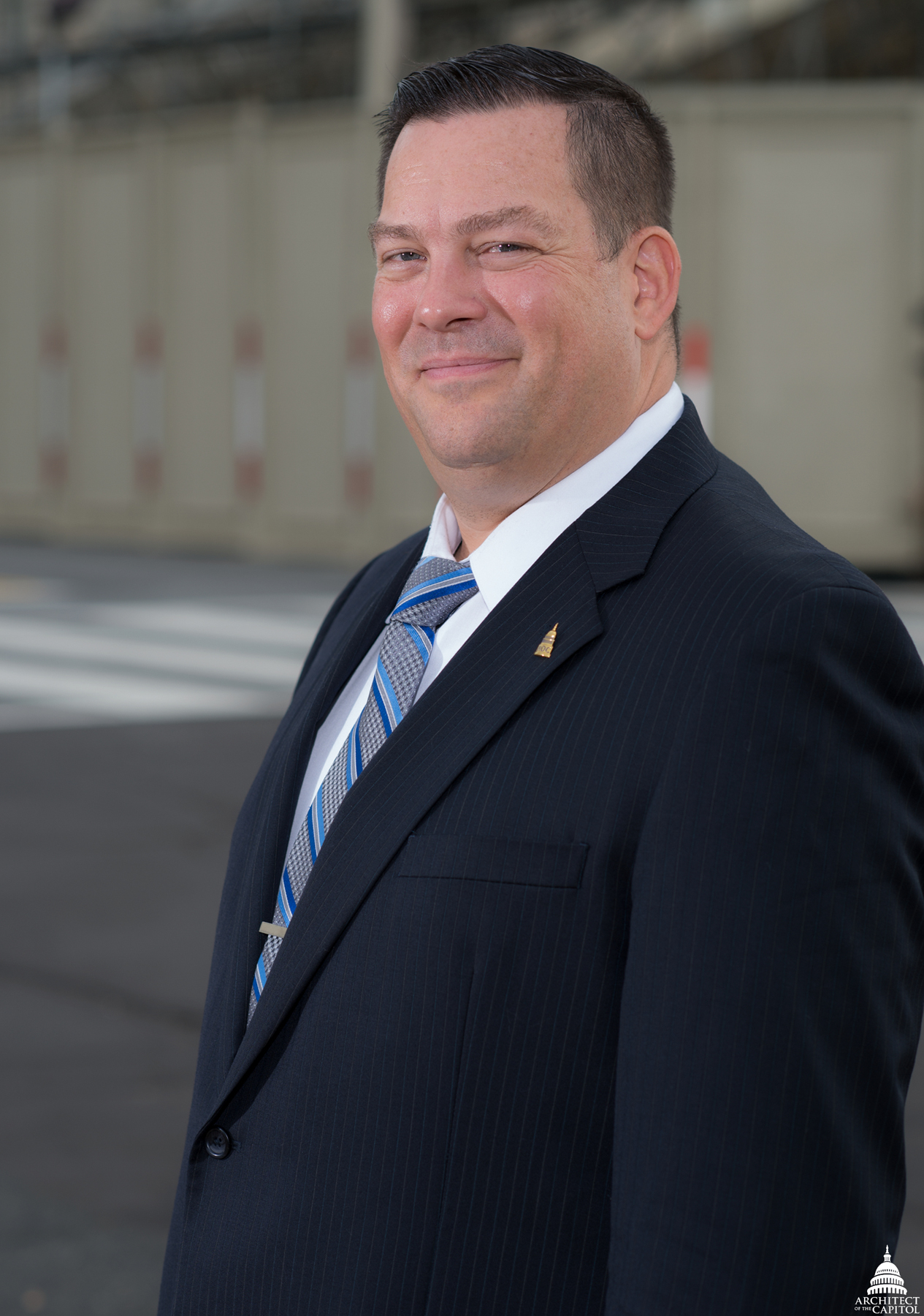 "AOC Project Executive Robert ""Skip"" Vaughn"