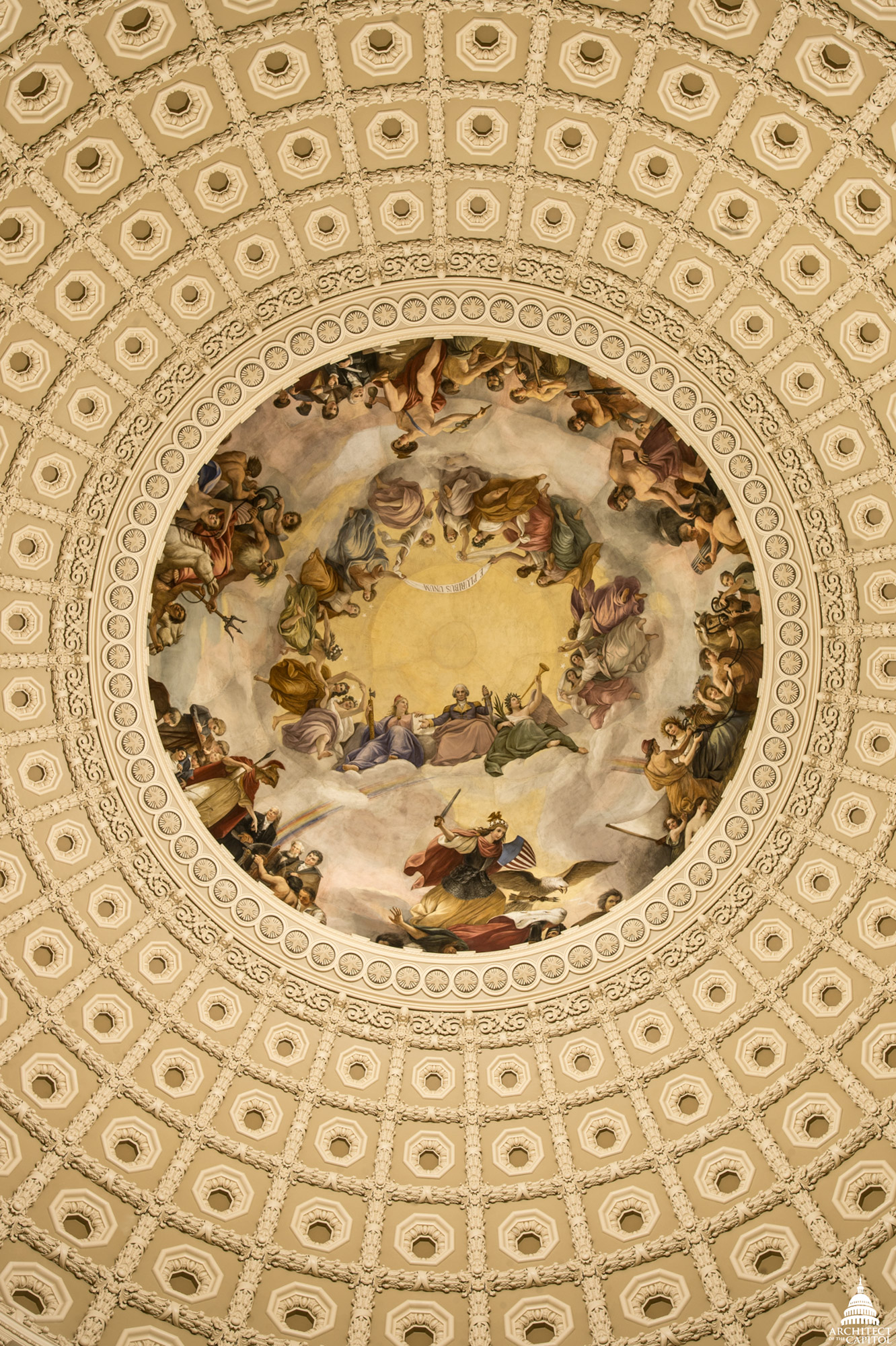 Apotheosis Of Washington Architect Of The Capitol