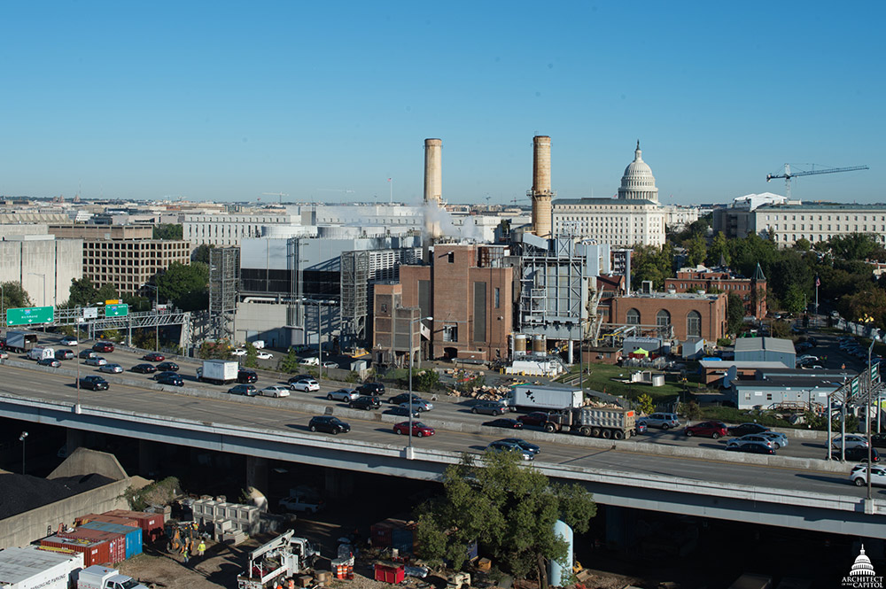 City View of the Capitol Power Plant
