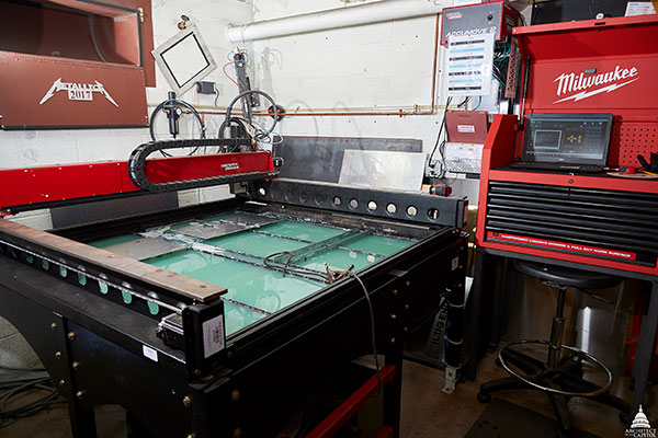 This computer numerical control (CNC) plasma cutter is a cool tool at the U.S. Capitol.