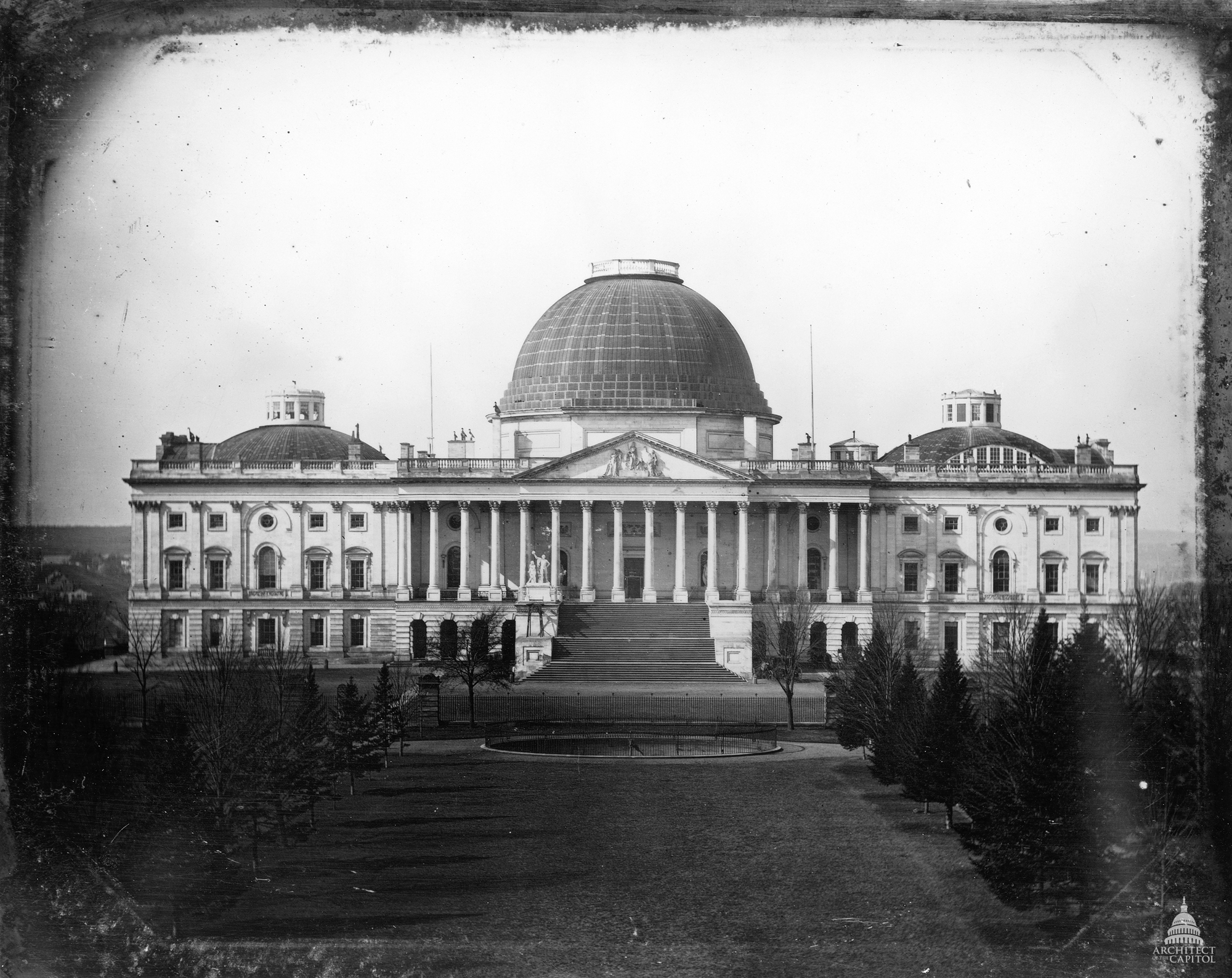 History Of The U S Capitol Building Architect Of The