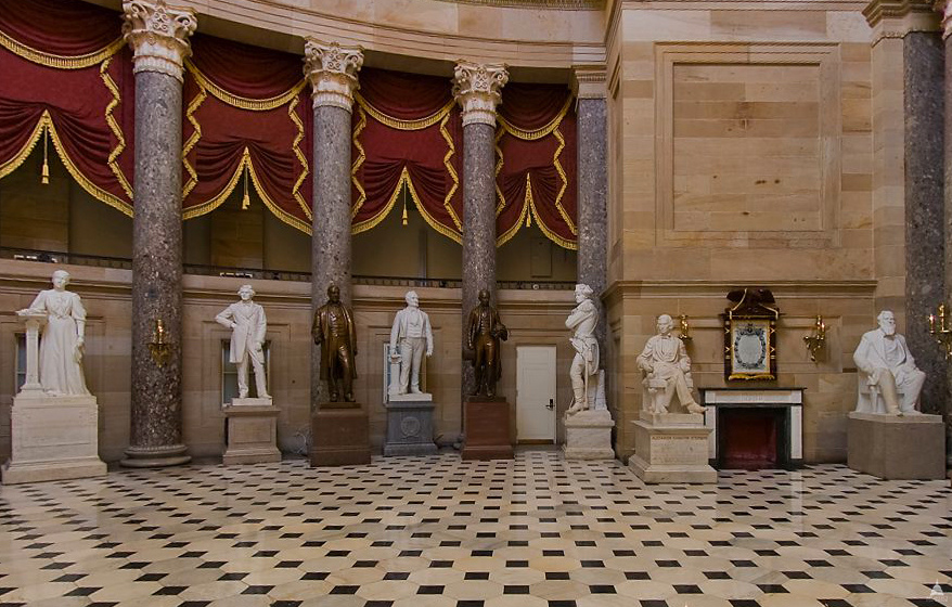 National Statuary Hall Collection By Location Architect