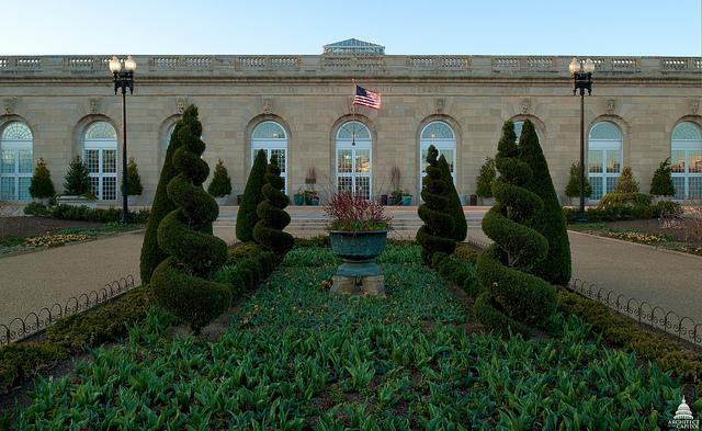 United States Botanic Garden Conservatory Entrance