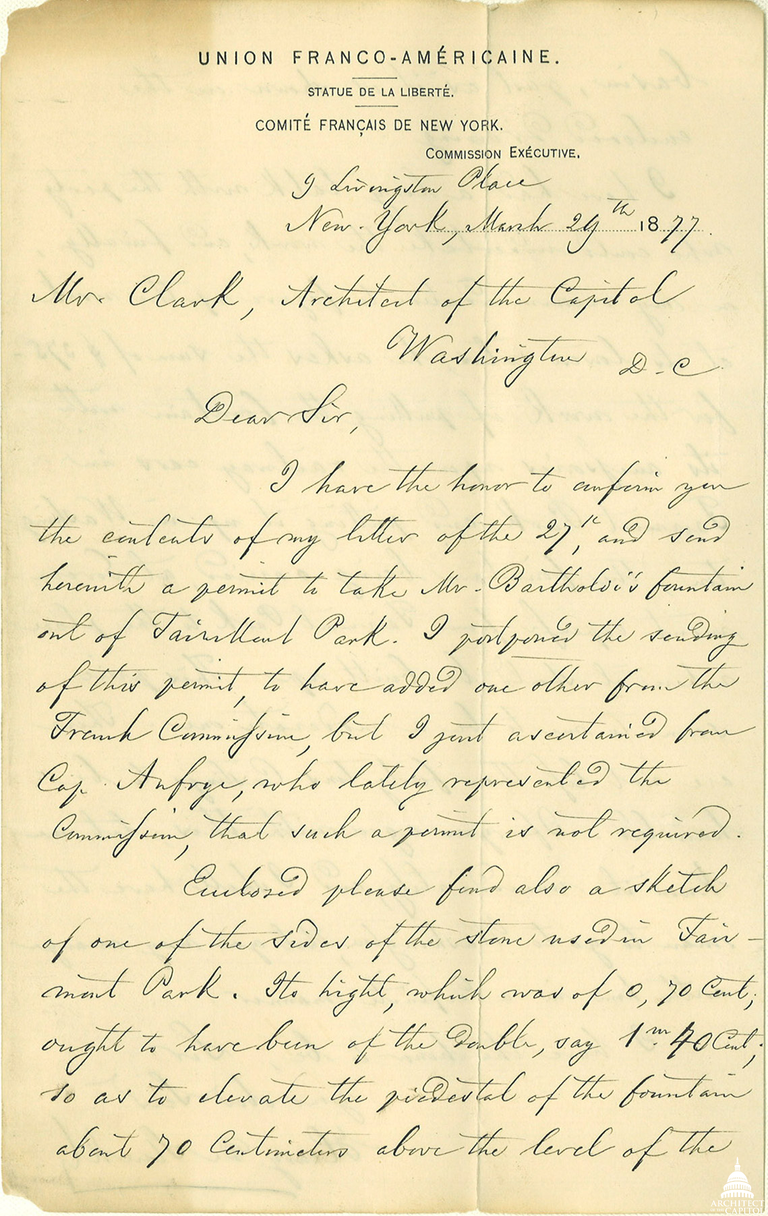Click to enlarge and read the letter.