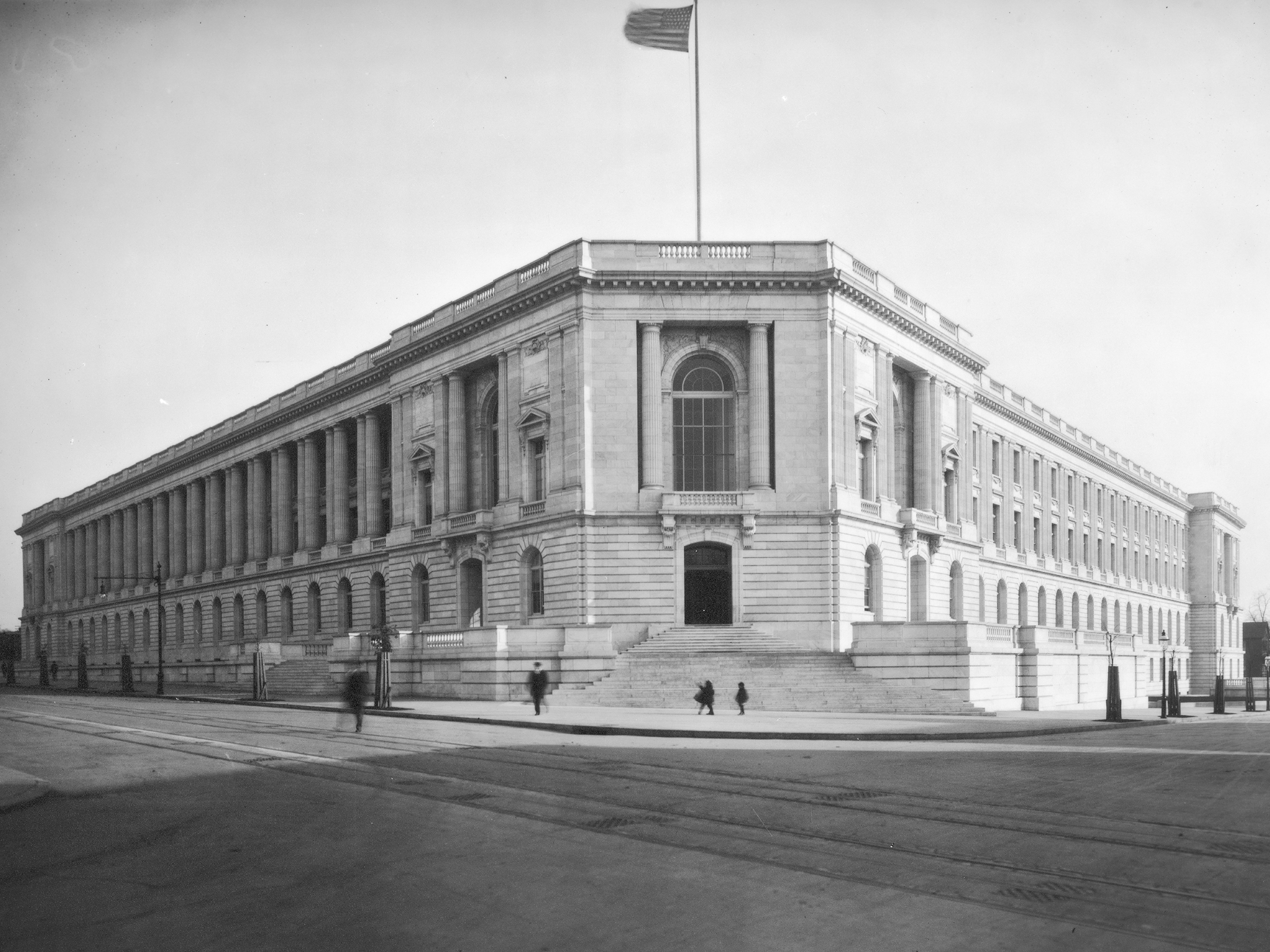 Exterior: History Of The Cannon House Office Building