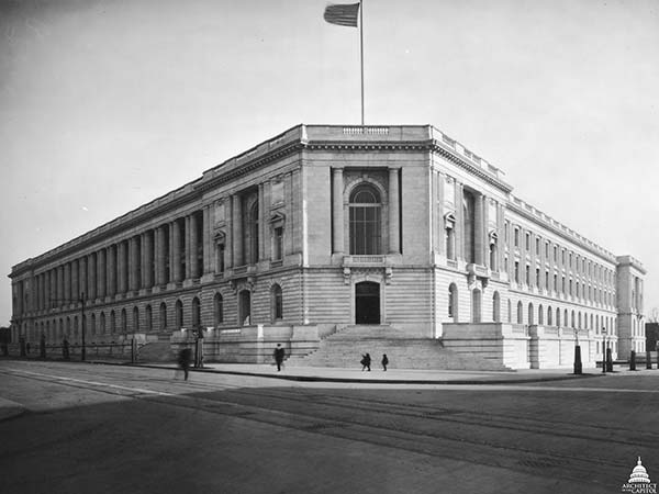 When the Cannon Building opened in 1908, it was known simply as the House Office Building.
