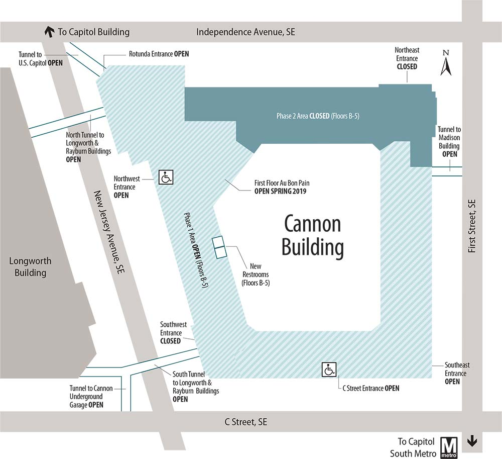 Cannon Renewal Project Updates | Architect of the Capitol on map of nw washington rivers, map of northwest ohio cabin rentals, map of upper northwest usa, map of capitol hill baptist area,