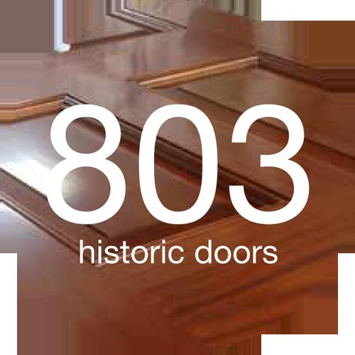 803 historic doors