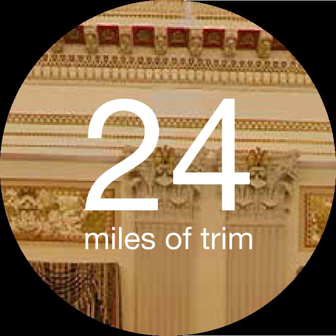 24 miles of trim