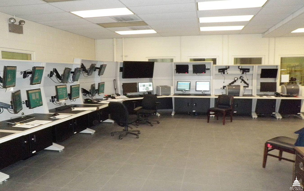Today, the Capitol Power Plant is monitored and controlled via a centralized room ensuring maximize efficiency.