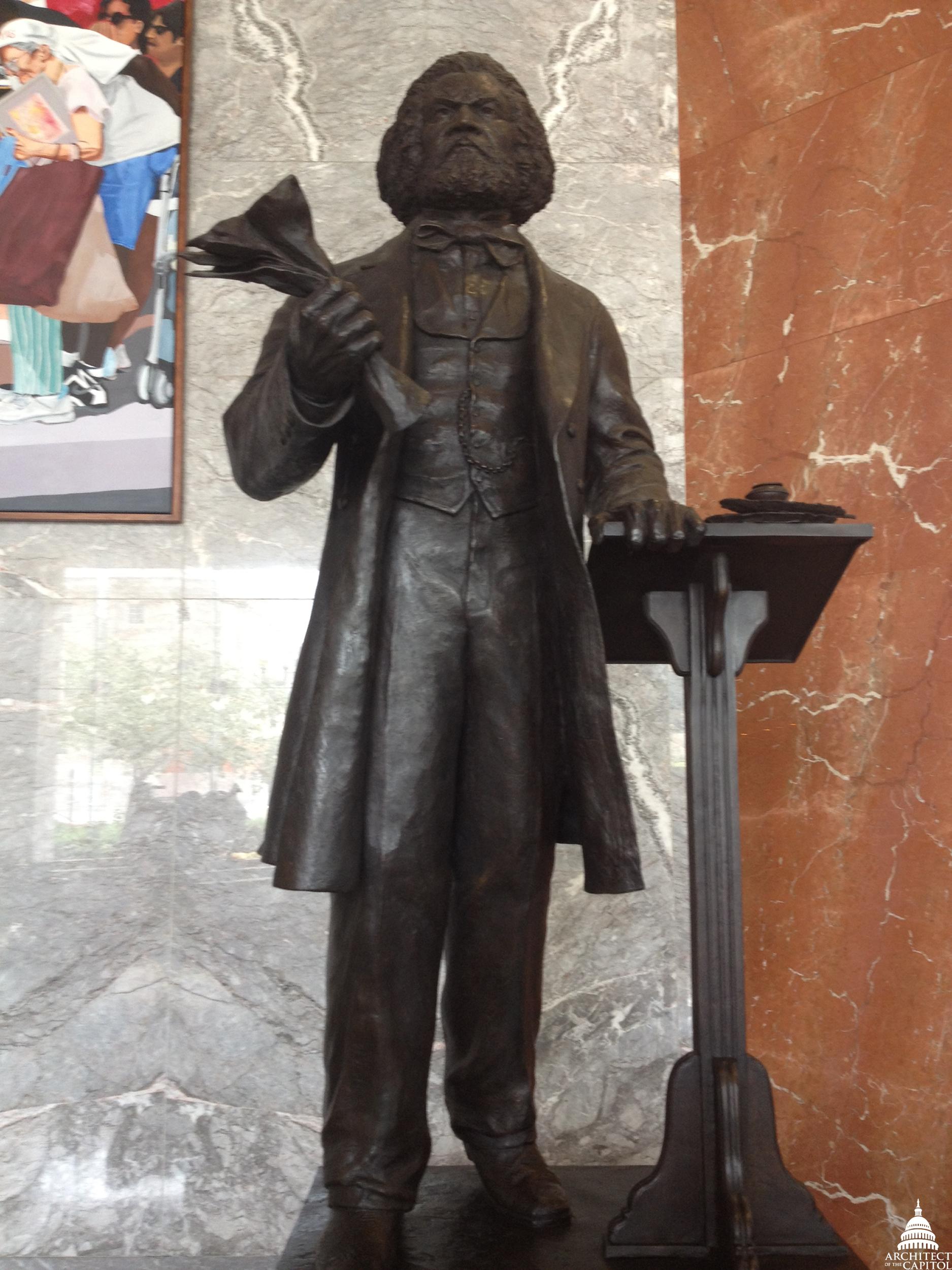 Frederick Douglass Statue Honoring Black History...