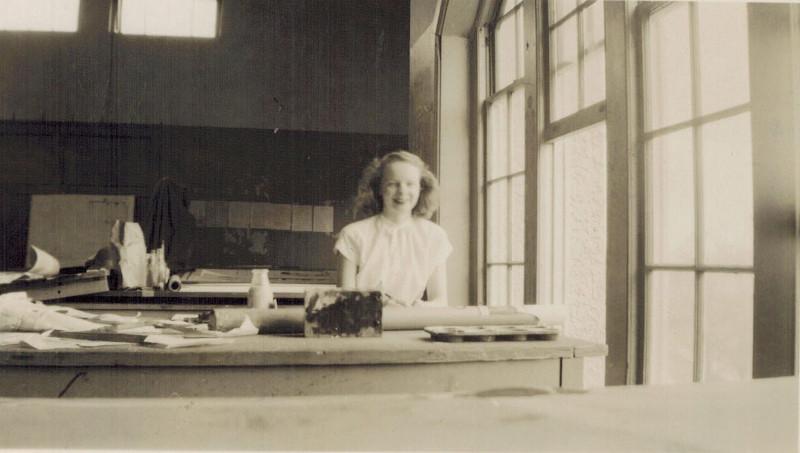 Photo of Georgia Shaw at Catholic University.