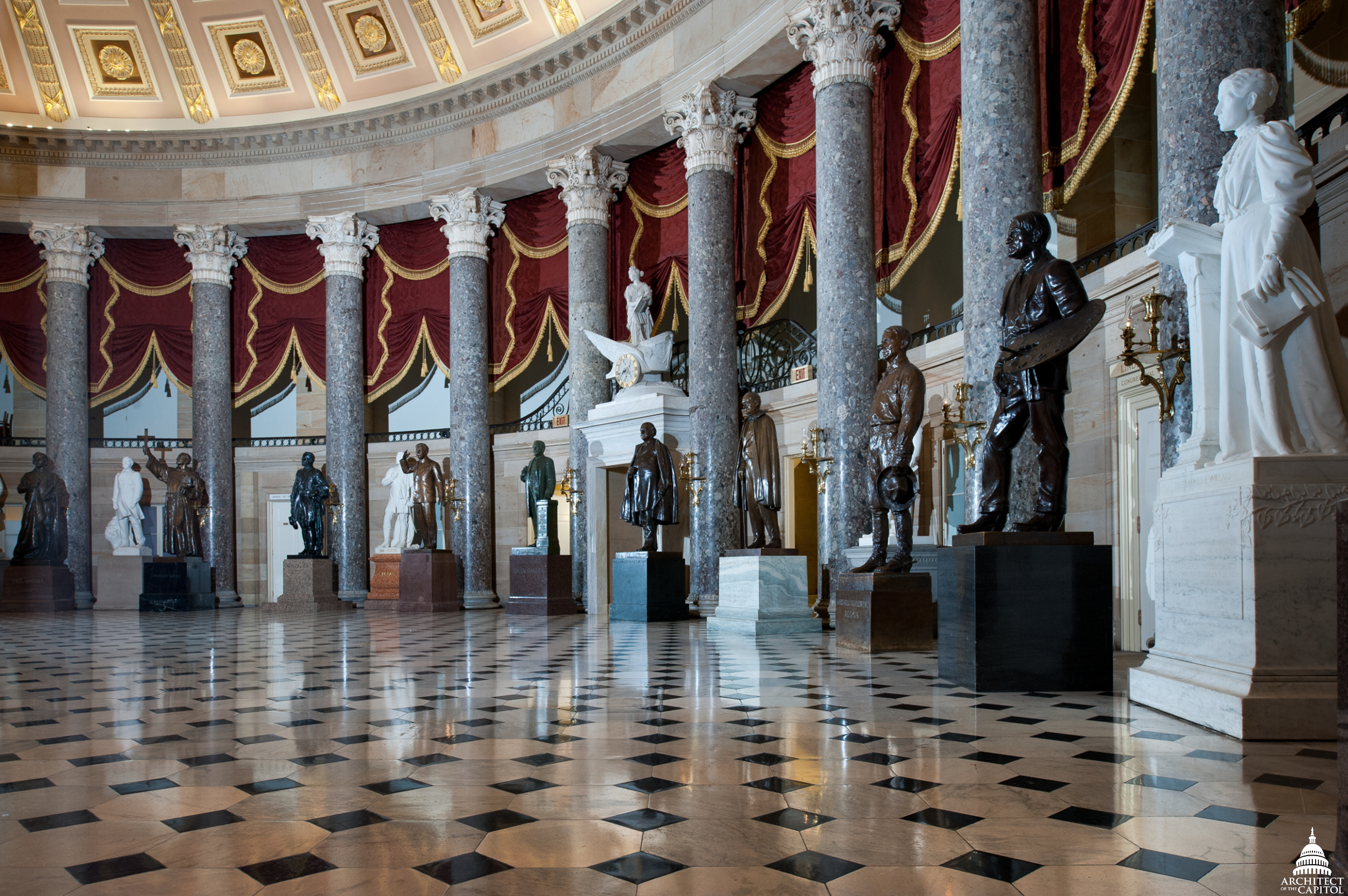 About The National Statuary Hall Collection Architect Of