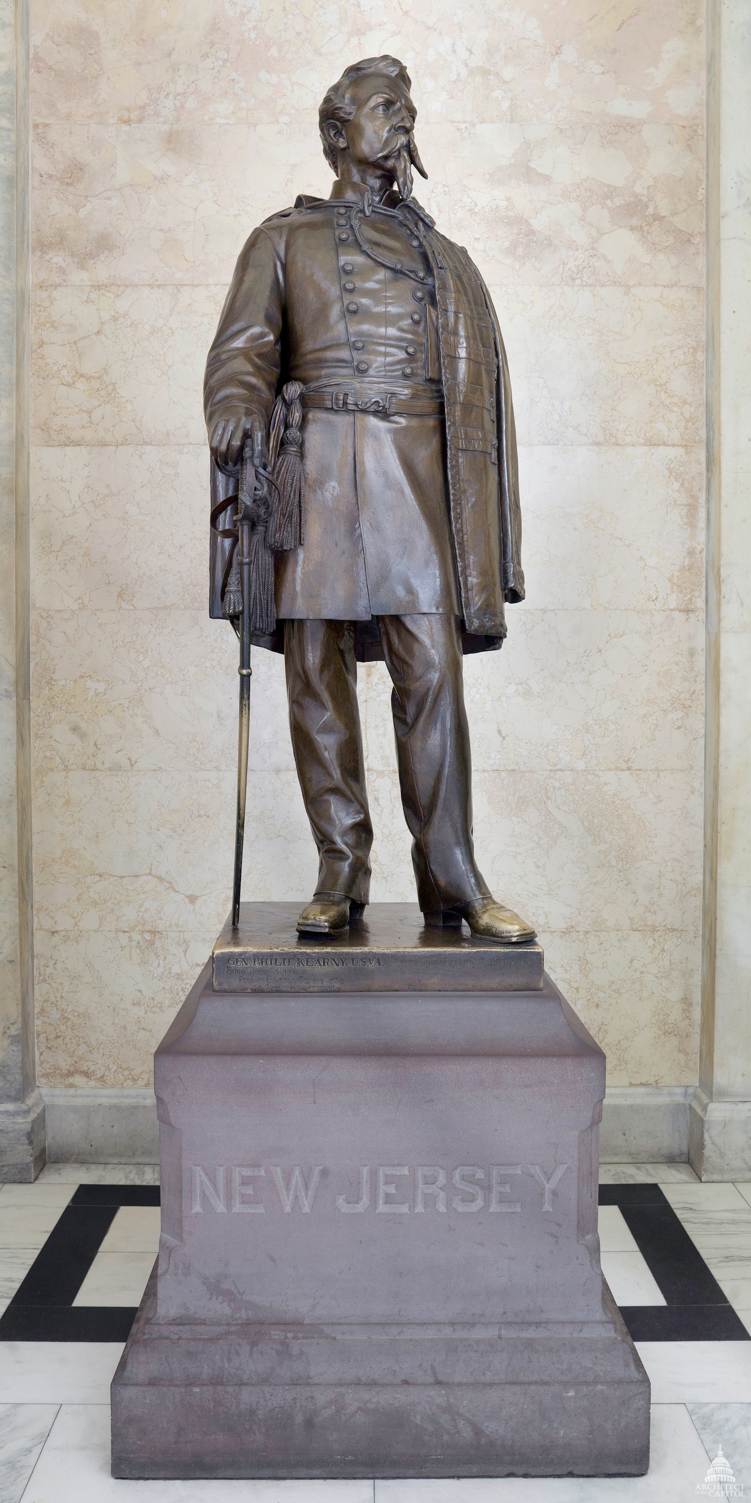 Philip Kearny Architect Of The Capitol