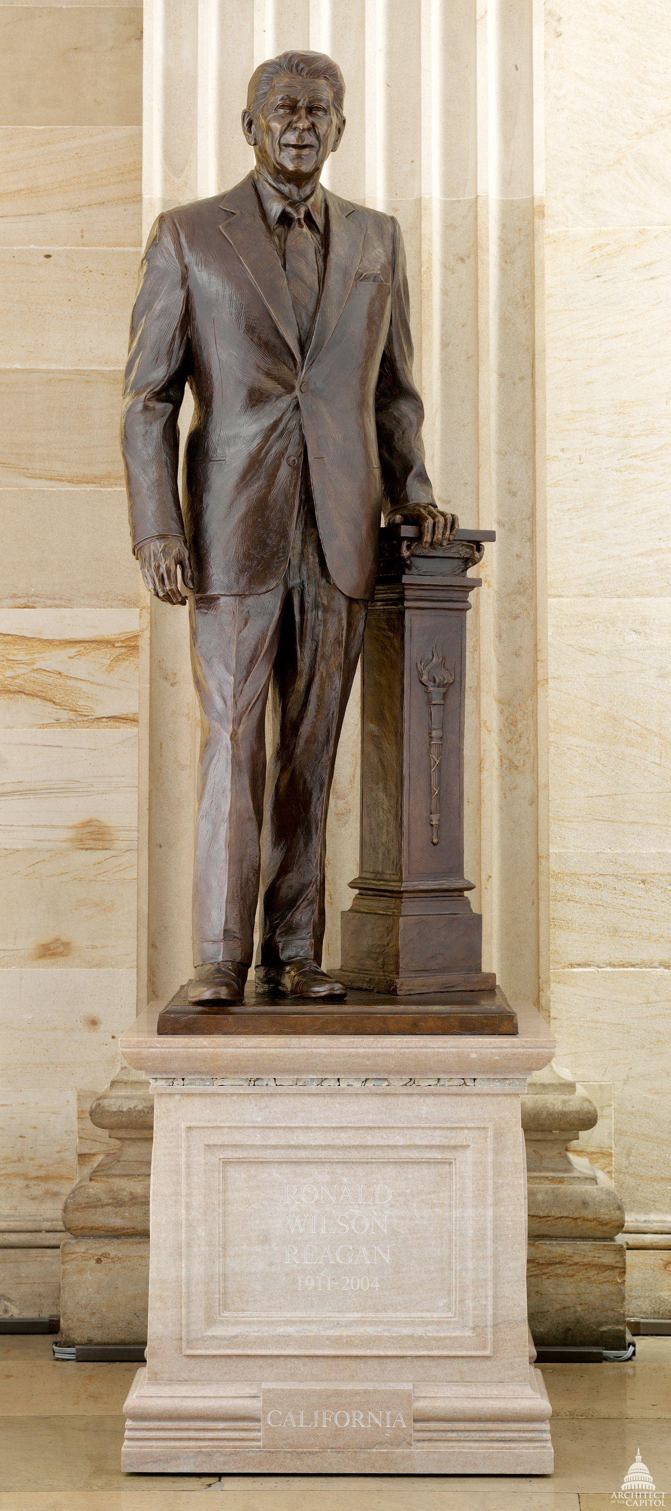 Ronald Wilson Reagan Architect Of The Capitol