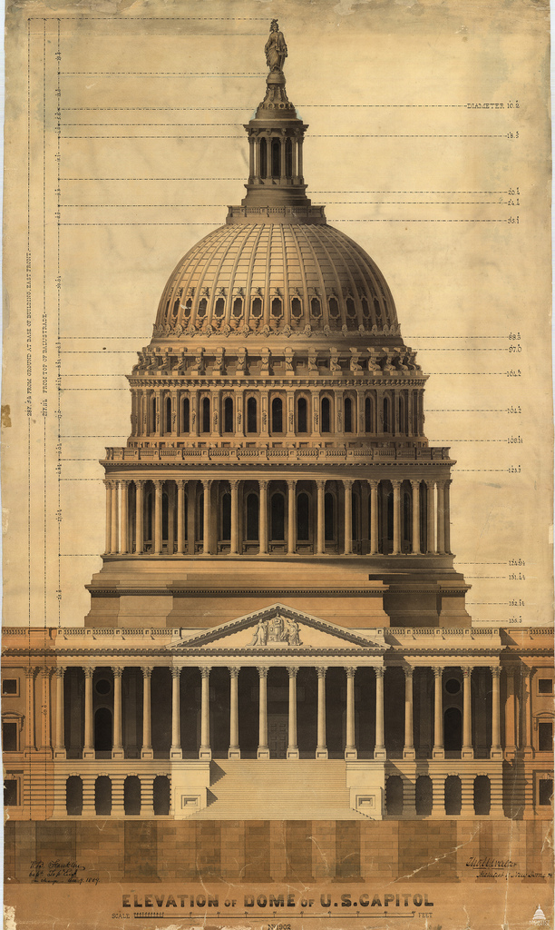 Capitol Dome Architect Of The Capitol United States