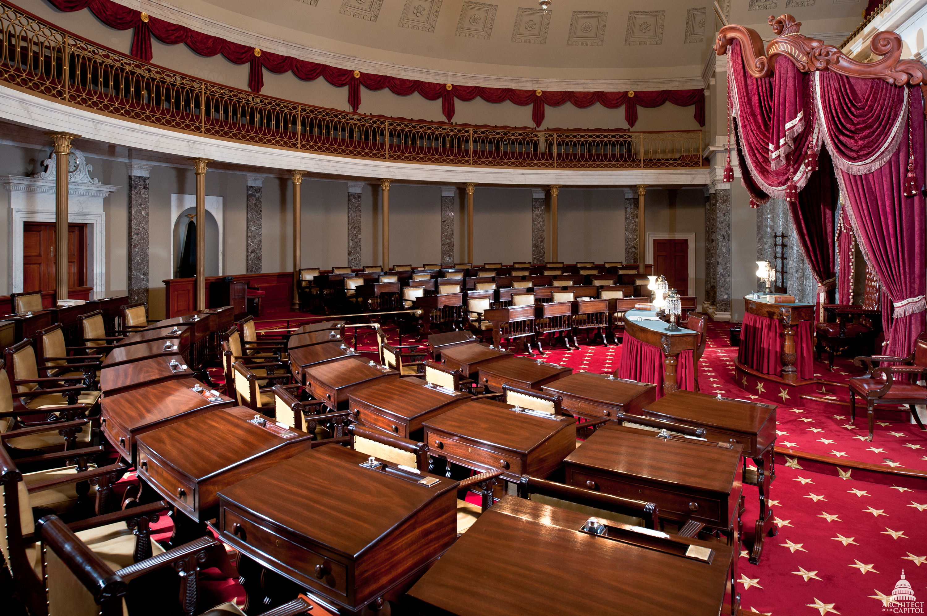 Old Senate Chamber   Architect of the Capitol   United ...
