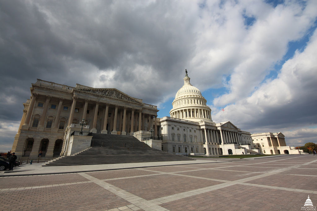 East front of the Capitol.