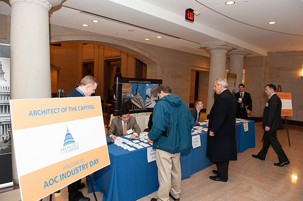 AOC is hosting an Industry Day at the U.S. Capitol in Washington, D.C.