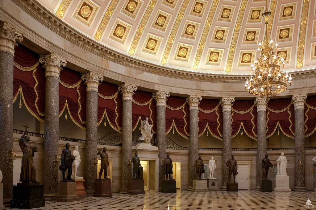 Rosa Parks Statue Joins US Capitol Art Collection Architect Of - Us congress building map