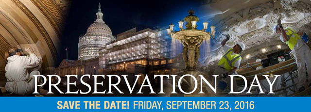 Preservation Day - Save the Date! Friday, September 23, 2016