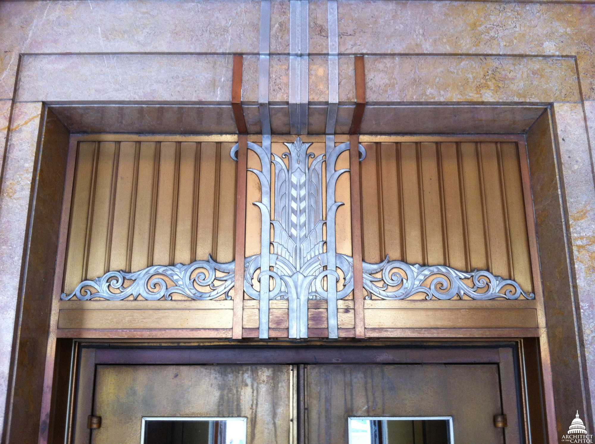 Adams Building Art Deco Elevator
