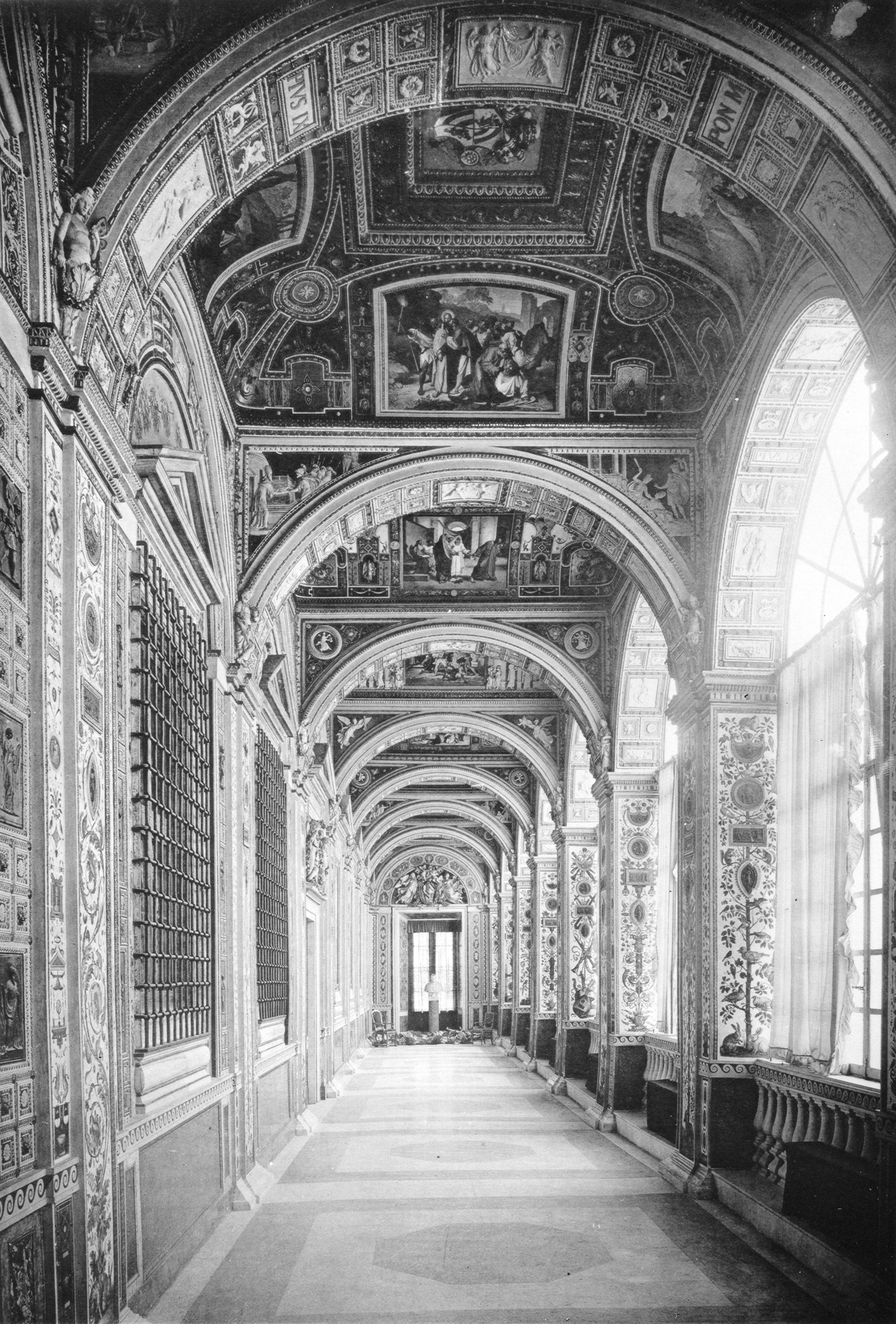 Raphael's Loggia in the Vatican.
