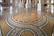 Floor tile at the Library of Congress Thomas Jefferson Building.