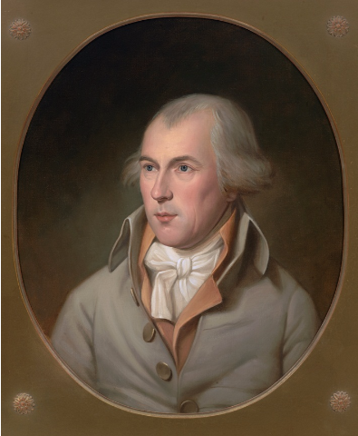 Portrait of James Madison, Jr. from the House collection.