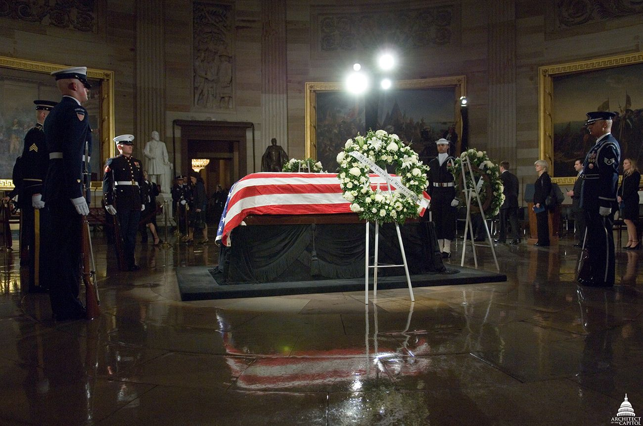 Lying in State of President Gerald Ford, 2006.