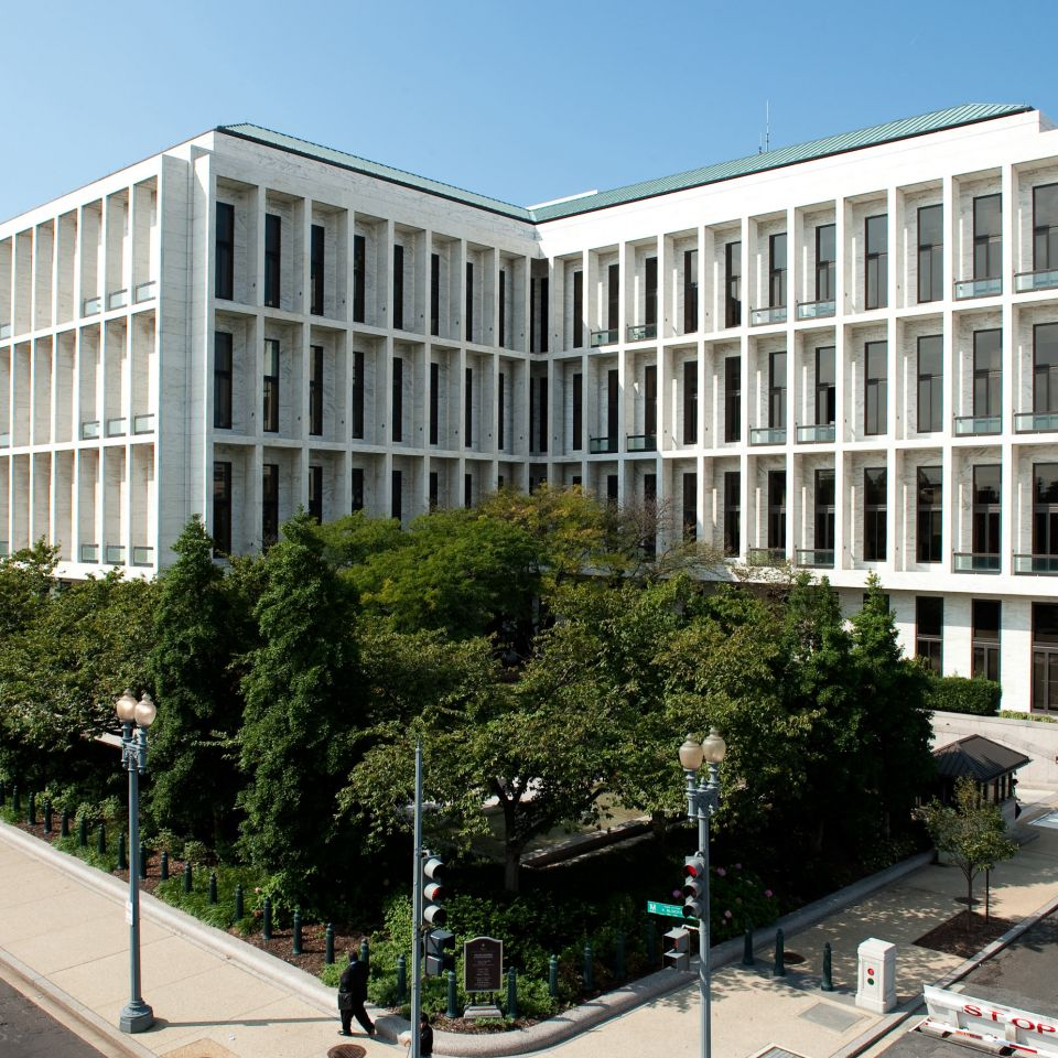 The Hart Senate Office Building