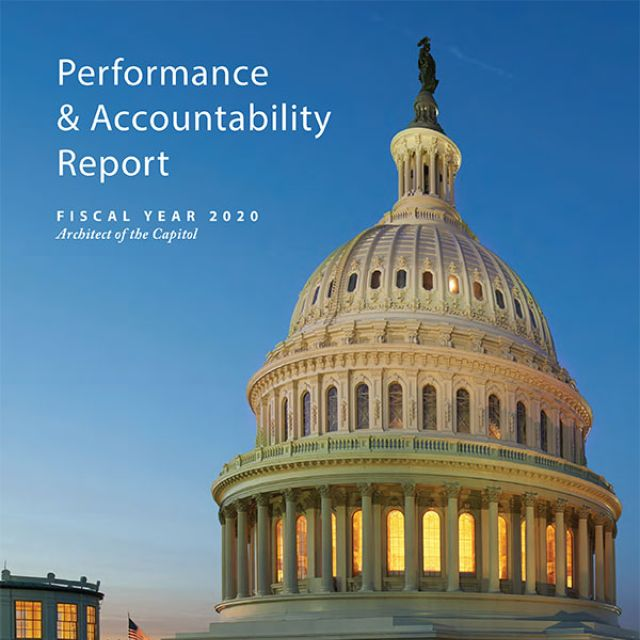 FY 2020 Performance and Accountability Report Cover