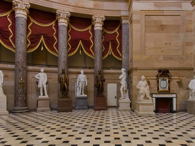 Statues in the Capitol