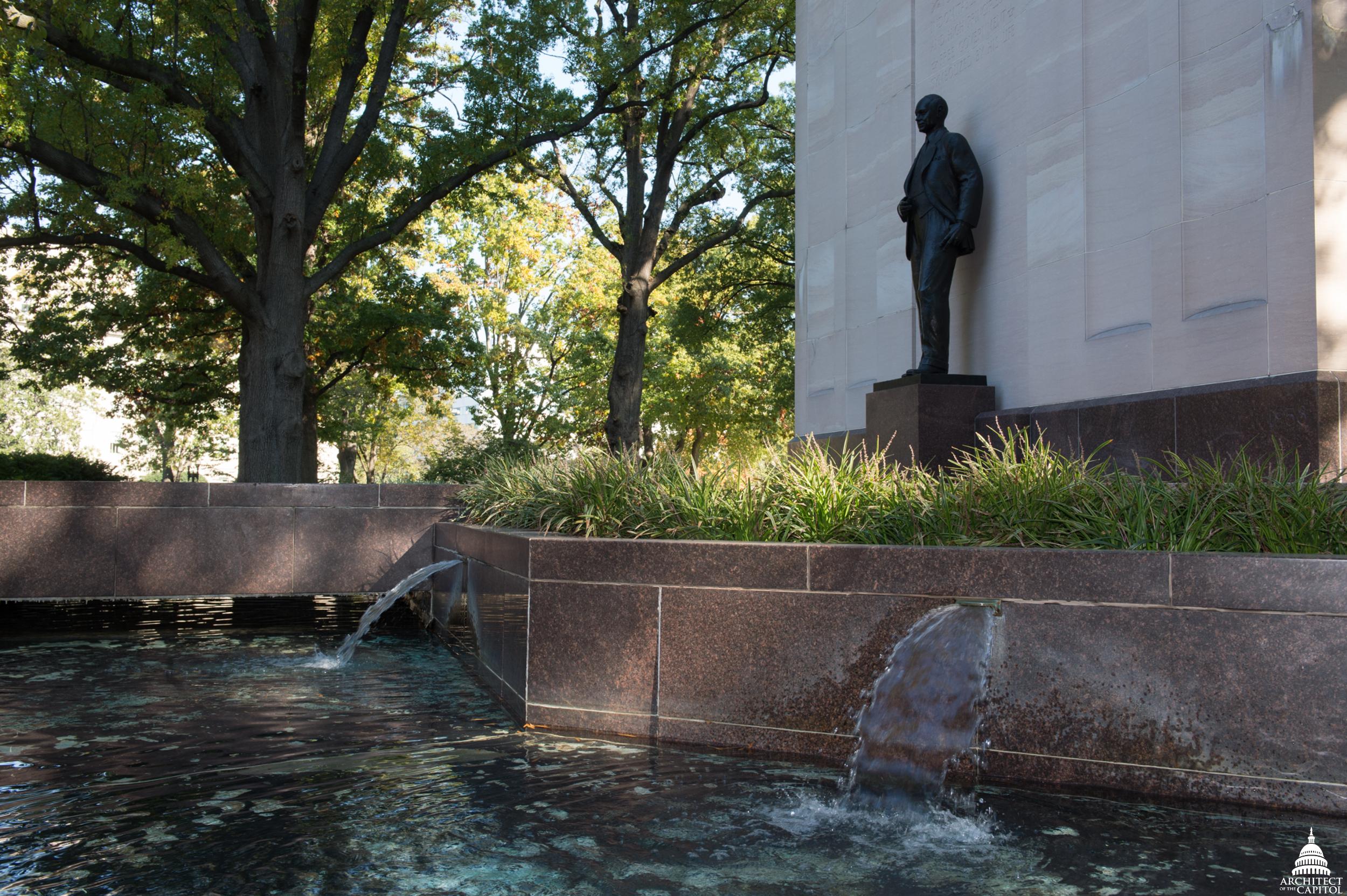 The Robert A. Taft Memorial and Carillon.